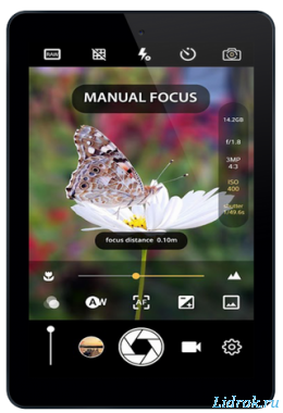 Manual Camera Pro : DSLR Camera HD Professional v2.1D [Android]