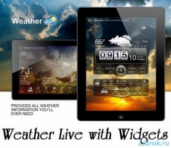 Weather Live with Widgets Full