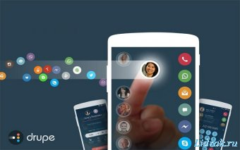 Contacts Phone Dialer Drupe Pro 3.034.0028X-Rel (Android)