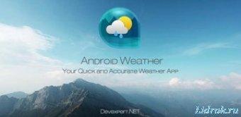 Weather & Clock Widget 3.9.4.0 (Android)