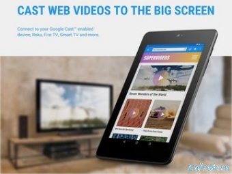 Web Video Cast. Browser to TV Premium 4.5.4 (Android)
