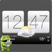 Sense Flip Clock and Weather v5.76.2.1 / Sense V2 Flip Clock and Weather v5.76.2.1 [Ru/Multi] бесплатно