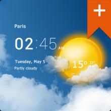 Transparent clock & weather Pro v0.91.06.04