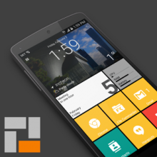 SquareHome 2 Premium - Win 10 style v1.1.1 (Android)