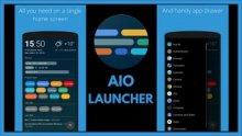 AIO Launcher Premium v2.7.36 apk (Android) бесплатно