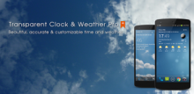 Transparent Clock & Weather Pro 3.11.01 [Android]