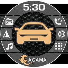 AGAMA Car Launcher 2.5.0 (Ru) Full (Android) лаунчер бесплатно