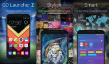 GO Launcher Z Prime 2.48 (Android)