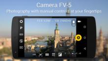 Camera FV-5 v5.0.2 [Android] полная версия бесплатно