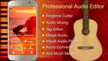 Audio MP3 Cutter Mix Converter and Ringtone Maker v1.62 PRO [Android]
