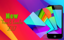 New Theme and Launcher 2017 v1.0 + Theme Pack (2017/RUS/ENG/Android)