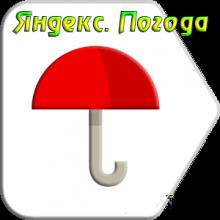 Яндекс. Погода